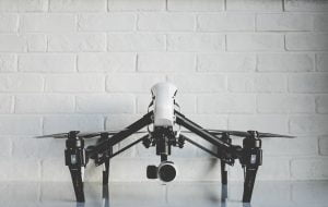 Drone technology used in construction sites